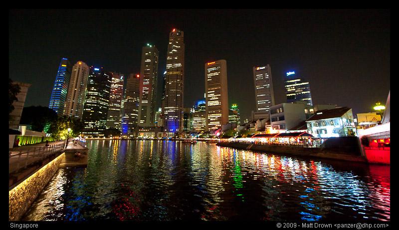 Boat Quay at Night