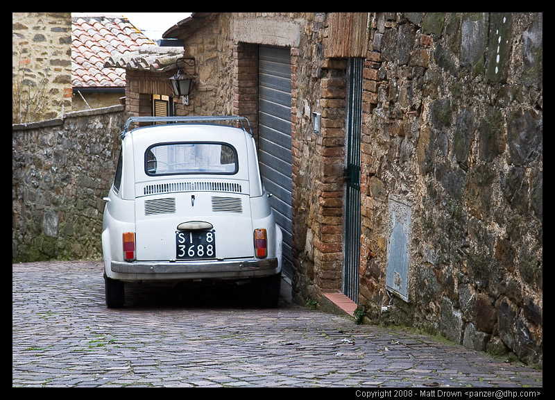 Fiat500 in Italy